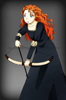 Merida by AntiqueCrown