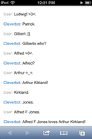 Cleverbot loves yaoi by wifefu