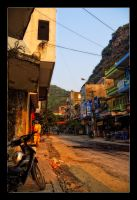 Streets of Cat Ba by WiDoWm4k3r