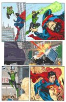 GL VS SUPERMAN by K-Bol