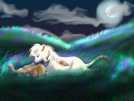 We Lay Here... by Faustina13