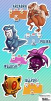 Pokemon Fusion by Galactic-Rush