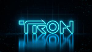 TRON Logo Final by polygonbronson