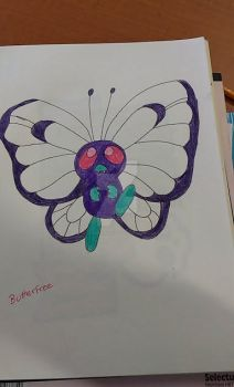 butterfree by chrichri486