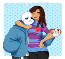 .:UT:. being taller than Sans... by kamillyanna