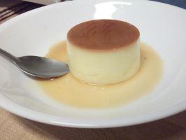 Japanese Styled Flan by CannotTheGrammar
