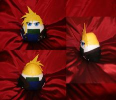 Cosplay Onigiri - Cloud Strife by merlinemrys