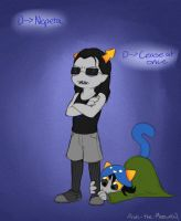 Equius and Nepeta by MelvisMD