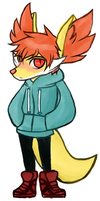 Bashful dumb redhead fox boy by temptingglow