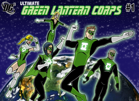 Green Lantern Corps - Ultimate by herrenmedia