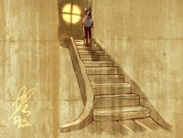 stairs by xiaojin67