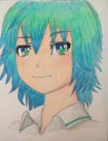 Tda Mikuo Portrait (Colored!) by Myindiansummer