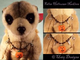 Fellas Halloween Necklace by Moon-Q