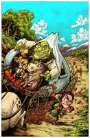 Shrek Comic Prequel: Cover. by RoloMallada