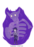 Sasuke Susanoo - Adventure Time style by Musical-Coffee