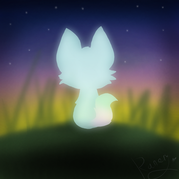 The EVENING cat :D by SnowflakeWonder