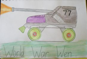 World war Wen by Anthony-Callaghan
