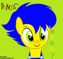 MLP DHMIS Yellow Guy AKA Manny by TylerTravisNakai