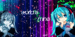 World Is Mine by MileyPink26