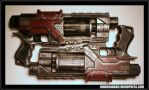 GI Joe - Baroness Cosplay - Dual Pistols by JohnsonArms