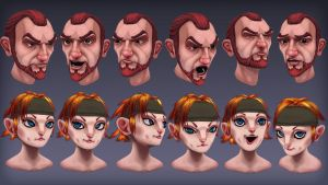 Face practices by Mechanubis