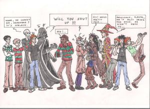 Six villains and antiheroes