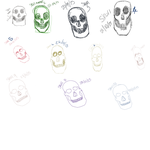 skulls WIP by KB-concepts