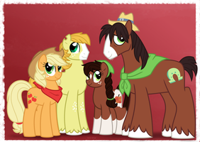 NG Family Portraits: TroubleJack Family by Faith-Wolff