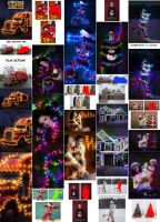 Christmas Lights Photoshop Action by GraphicAssets