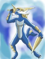 Living suit of Samurott 2 by Jonesycat79
