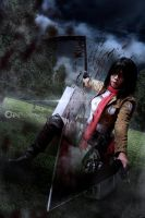 Shingeki no Kyojin - Mikasa Ackerman by Maverick by Elitez21