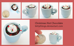 Christmas Hot Chocolate - Gift by Bittythings