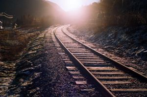 Railway to Nowhere by yama-dharma