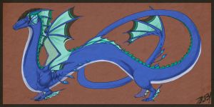 Levi Dragon Form by Zilleniose