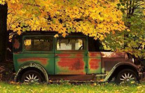 Paint job or a new Jeep?  So rustic. by BelovedImmortal