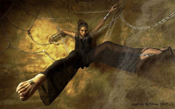 Web of Chains by AngelesLaVeau