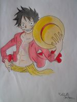 Luffy two years later by ModelingElf