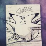 Clefable.  by Argoz1