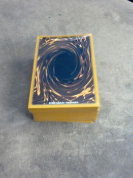 My Yu-Gi-Oh Deck With New Sleeves by Music-S-Brush
