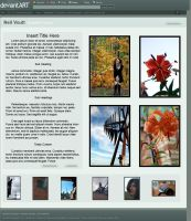 deviantART Portfolio Layout by neo-the-foxycoon