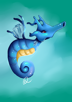 kingdra by DinaConcept