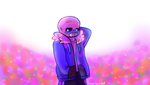 Sans Embarrassed by startail1203