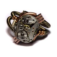 Steampunk Jewelry Ring by CatherinetteRings