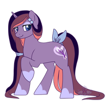 Pony OC  ~ Lavender Aroma by Crystal-Comb