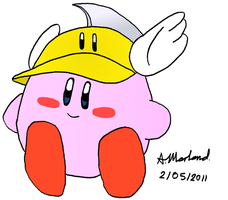 Cutter Kirby by KirbyKid24