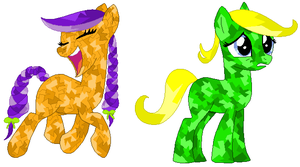 Crystal Pony Test by Literate-Adopts