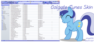 Colgate iTunes Skin by slingo1126