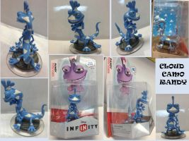 Cloud Camo Randy Disney Infinity by Derrico13