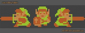 NES Link Knitting Pattern by KAR10SA