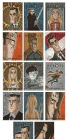 Heroes Sketch Cards 3 by OtisFrampton